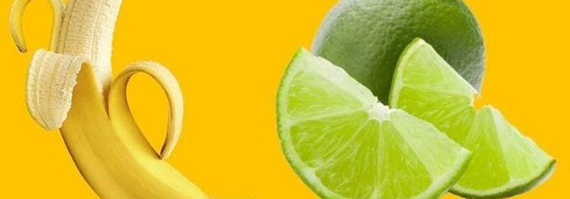 Cambur con limón para el cansancio crónico
